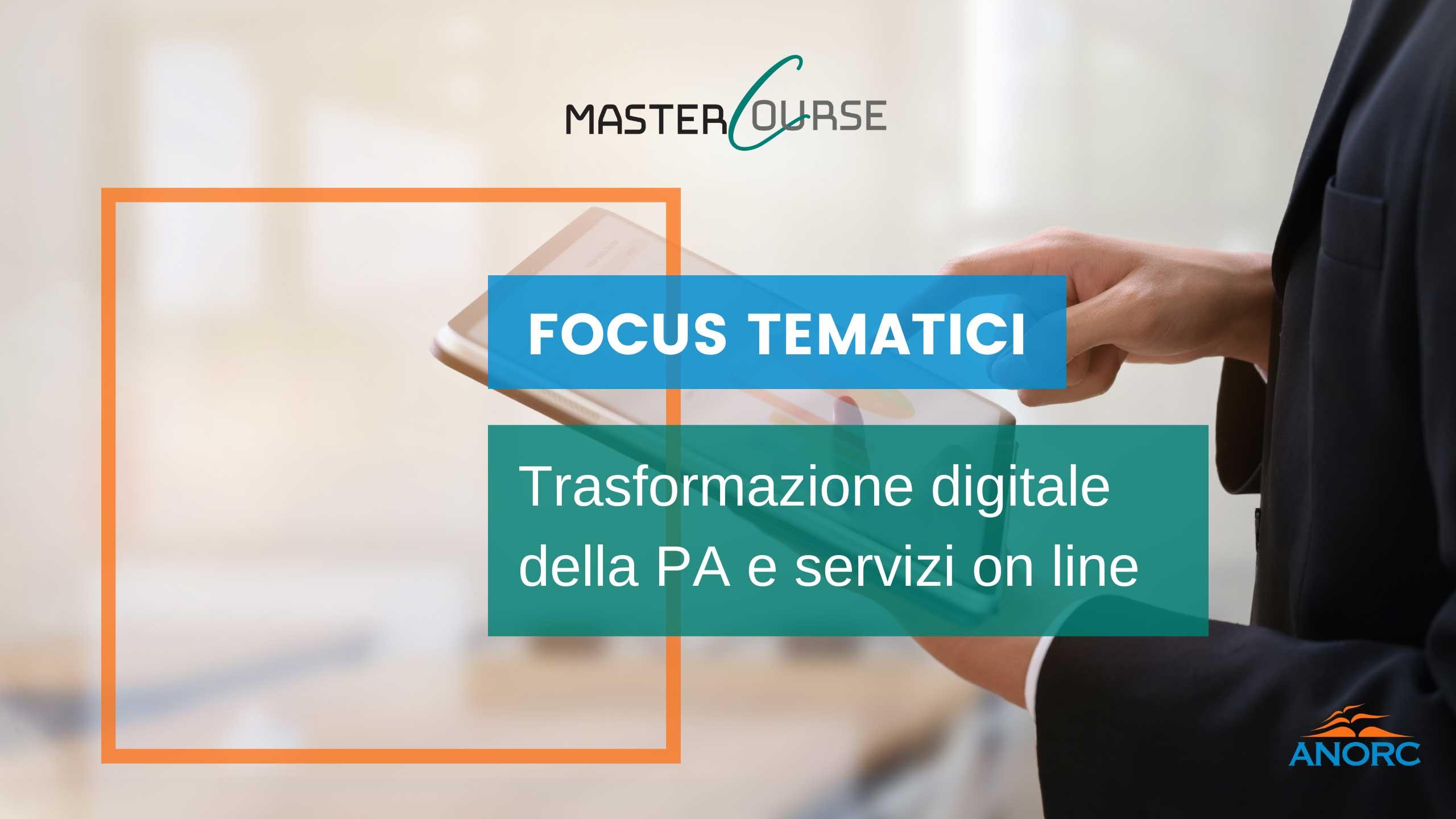 14^ giornata 7 luglio 2021 - Trasformazione digitale della PA e servizi on line
